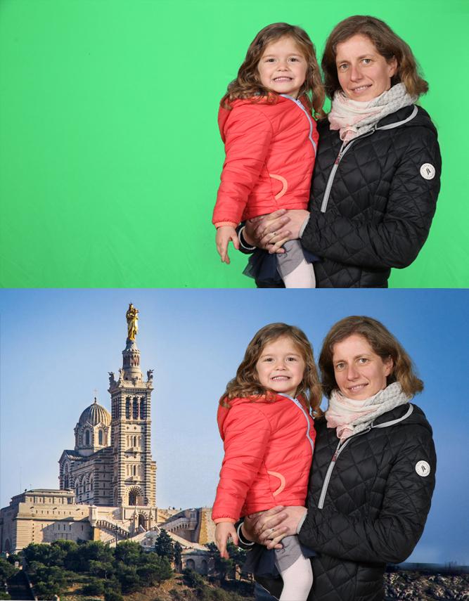 Greenbooth avant & après
