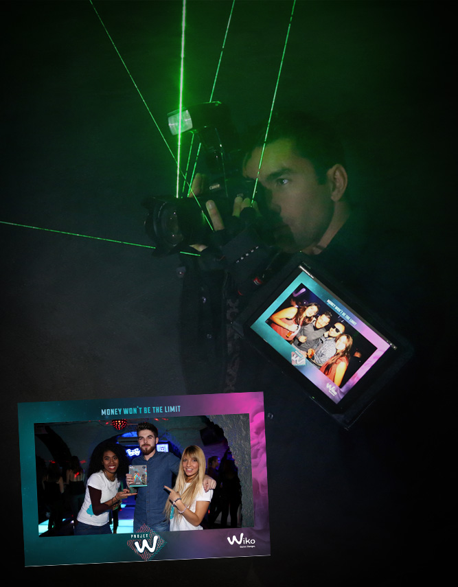 iPhotographer & Lasers