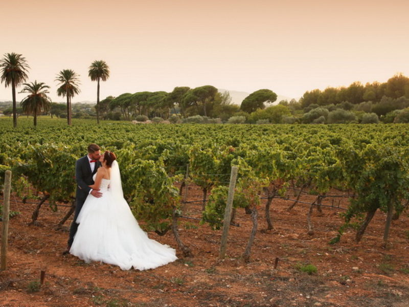 Un mariage fabuleux au Château du Galoupet