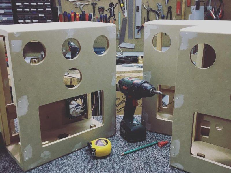 Fabrication de Photobooth