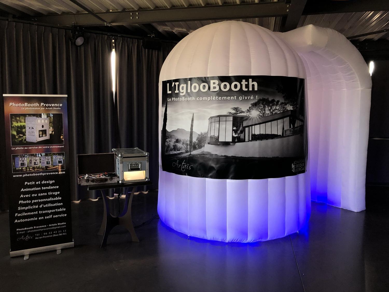 L'iglooBooth, le PhotoBooth aux allures de glaçon !